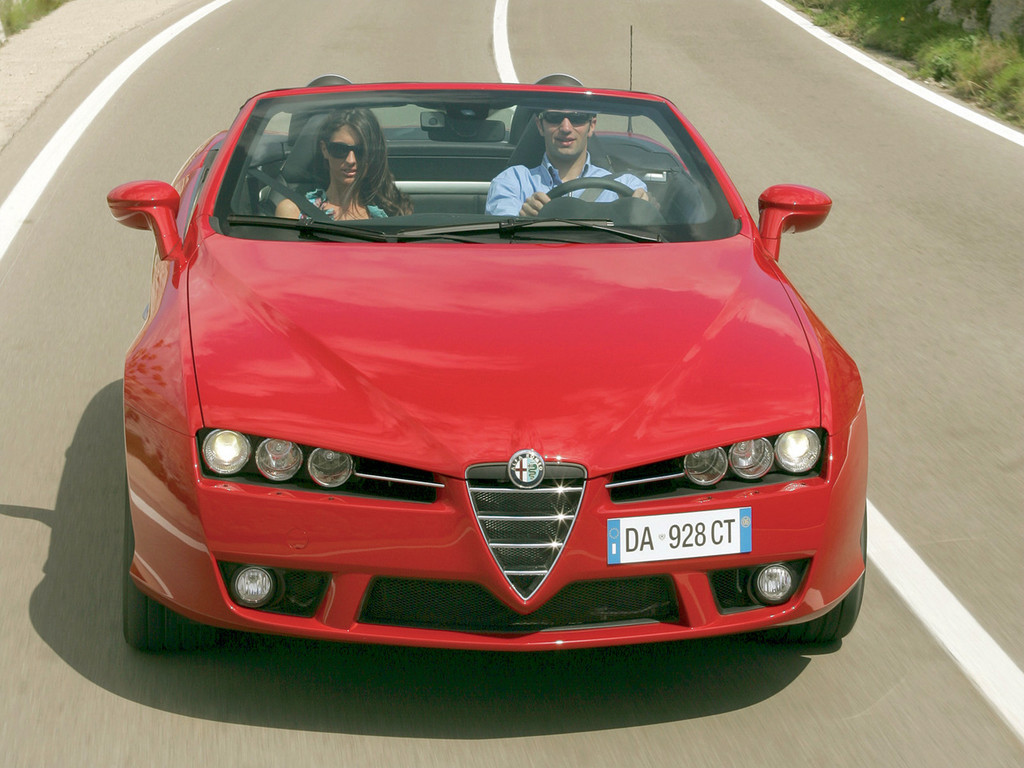 Alfa Romeo Spider photo 5 1024x768