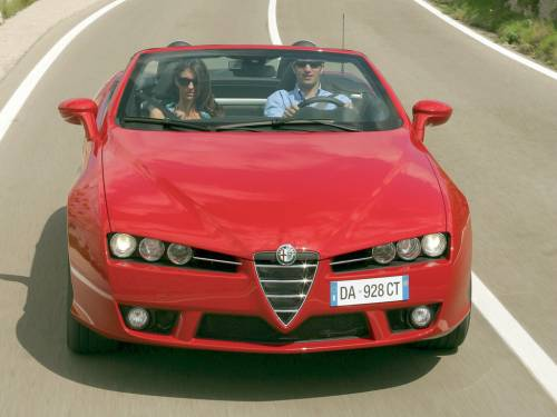 Alfa Romeo Spider photo 5