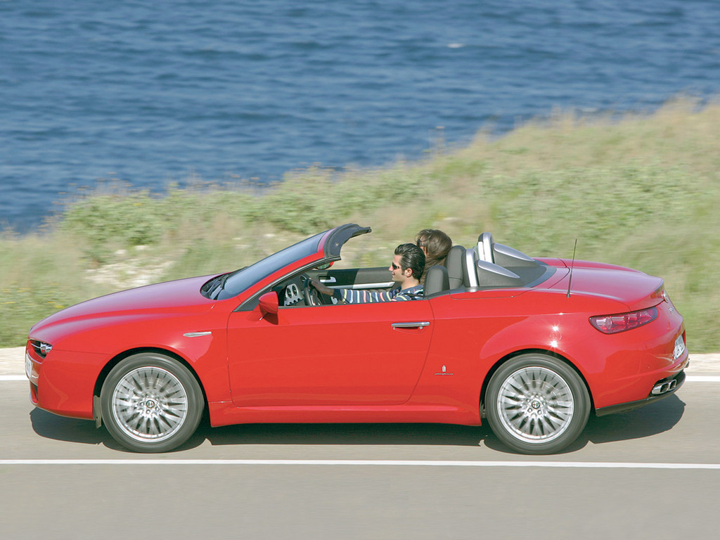 Alfa Romeo Spider photo 4 1024x768