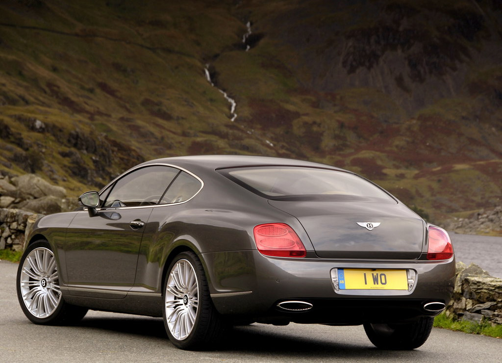 Bentley Continental GT photo 3 1024x740